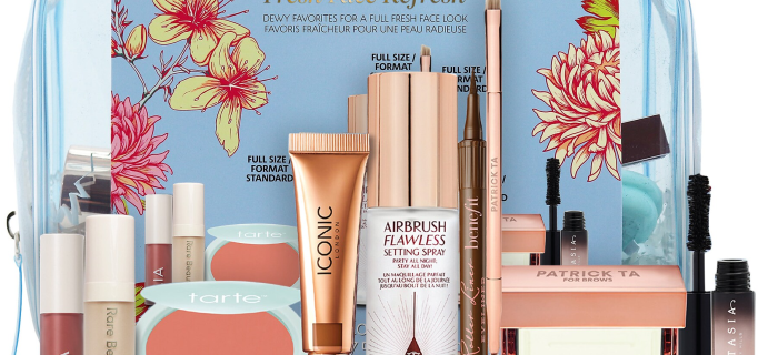 New Sephora Favorites Fresh Face Refresh Makeup Set Available Now + Coupons!