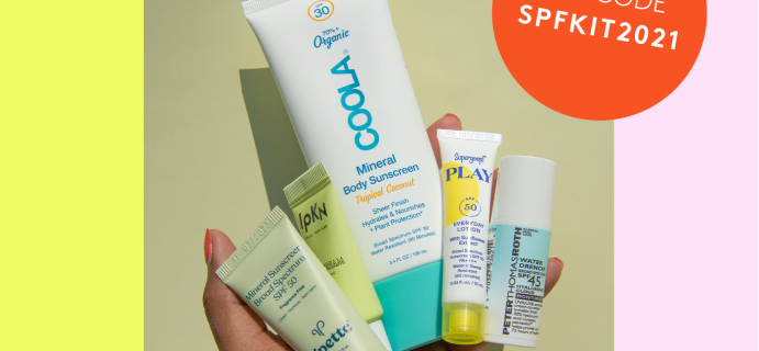 Birchbox Coupon: FREE SPF Try-It Kit With 6+ Month Subscriptions!