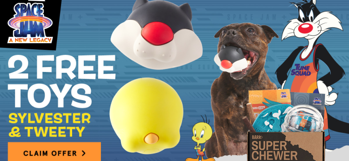 Super Chewer Deal: FREE Sylvester and Tweety Bird Toys With First Box of Tough Toys for Dogs!
