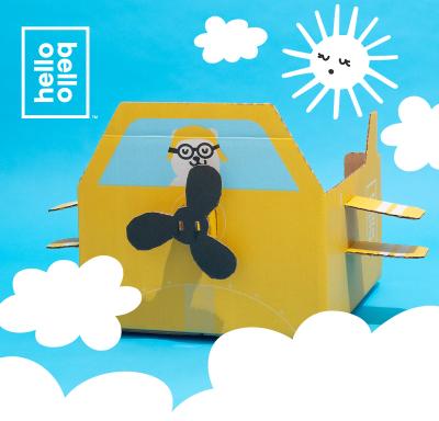 Hello Bello Diaper Bundle: Limited Edition Airplane Box!