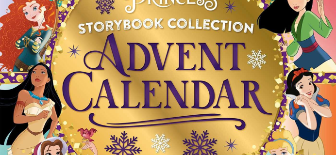 2021 Disney Princess Storybook Advent Calendar Available Now + Spoilers!