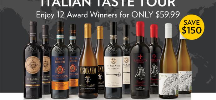 Nat Geo Wines of the World Coupon: Travel Around Italy Through The Italian Taste Tour + Save Up To $150!