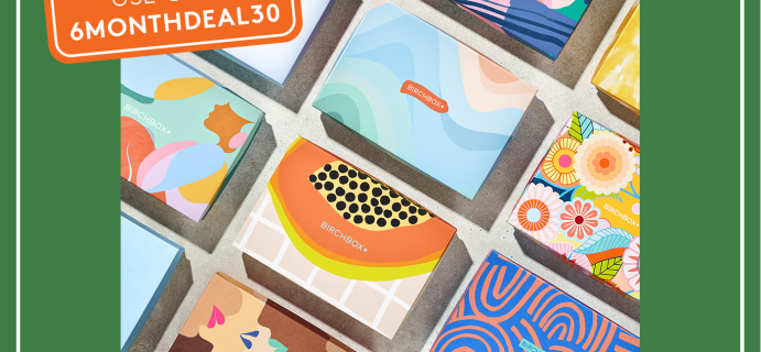 Birchbox Summer Sale: 30% Off On 6 Month Subscriptions!