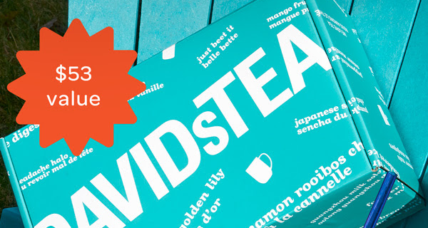David's Tea Deal: FREE Spring 2021 David's Tea Tasting Club Box With $99 Purchase!