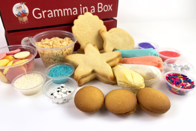 Gramma in a Box: Make Sea Creature Cookies this August!