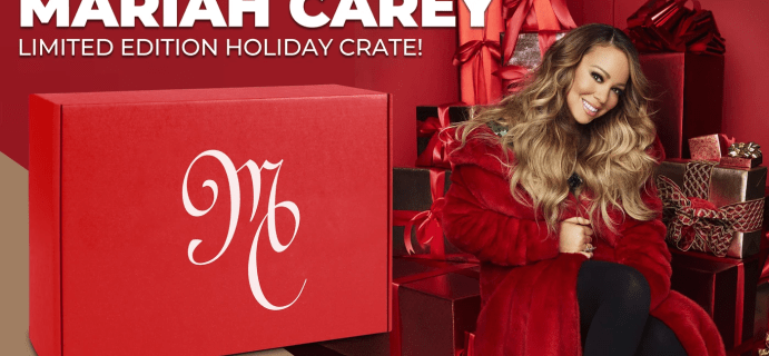 All I Want for Christmas: Limited Edition Mariah Carey Holiday Crate!