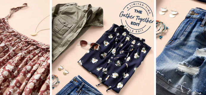Wantable Limited Edition Gather Together Edit: Looks For Summer Reunions!