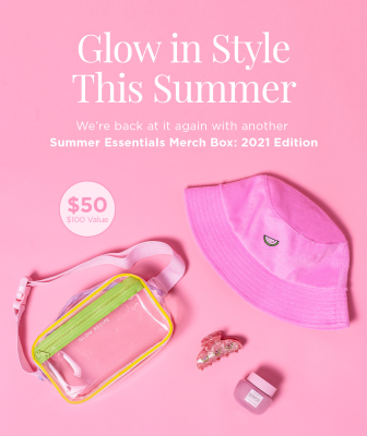 Glow Recipe Summer Essentials Merch Box 2021 Edition: Glow In Style This Summer!
