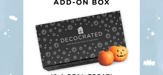 Decocrated Halloween Add-On Box 2021 Spoiler #1!