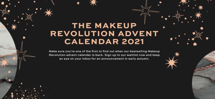 Makeup Revolution Advent Calendars 2021 Opens Waitlist! {UK}