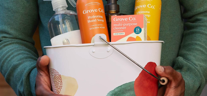 Grove Collaborative: FREE Golden Hour Cleaning Set + FREE Shipping!
