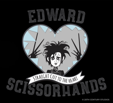 Loot Crate Limited Edition Edward Scissorhands Capsule Collection!