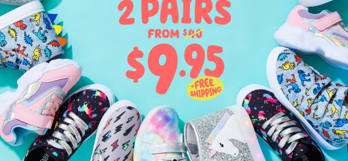 FabKids Back To School New Member Deal: Get 2 Pairs Of Shoes For $9.95!