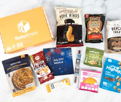 KetoKrate July 2021 Subscription Box Review + Coupon