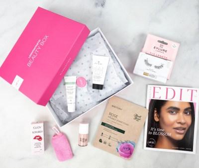 Look Fantastic Beauty Box April 2021 Subscription Box Review + Coupon!