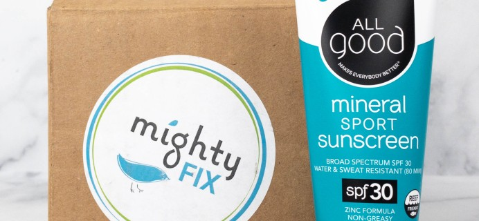 Mighty Fix July 2021 Review + First Month $3 Coupon