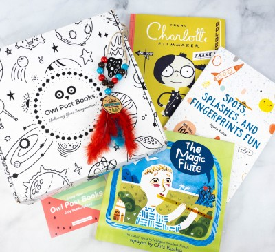 Owl Post Books Box Review + Coupon – July 2021