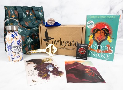 OwlCrate June 2021 Review + Coupon – GO YOUR OWN WAY!