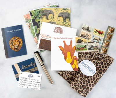 Postmark'd PostBox July 2021 Subscription Review + Coupon