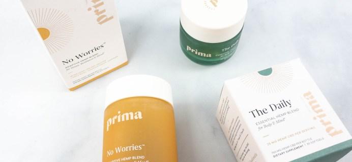 Prima CBD Supplements Review + Coupon