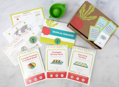Raddish Kids Review + Coupons – July 2021 TROPICAL PARADISE