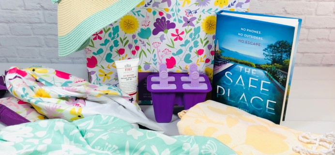 Relax & Radiate Crate Summer 2021 Subscription Box Review
