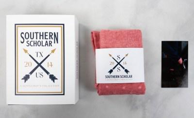Southern Scholar July 2021 Socks Box Review & Coupon