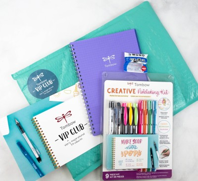 Tombow VIP Club Box Review – July 2021