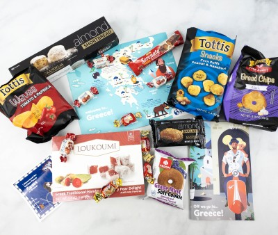 Universal Yums Subscription Box Review + Coupon – GREECE