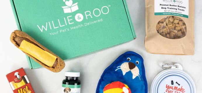 Willie & Roo Dog Subscription Box Review + Coupon – July 2021