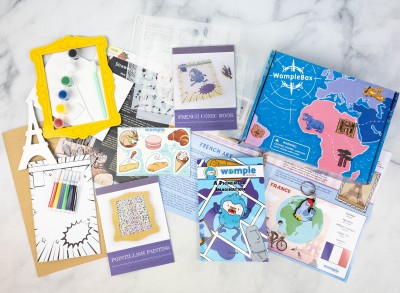WompleBox by Womple Studios Subscription Box Review + Coupon – FRANCE