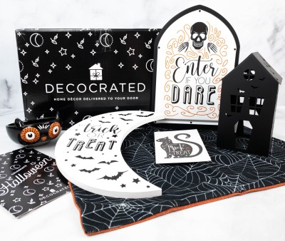 Decocrated Halloween Add-On Box 2021 Review