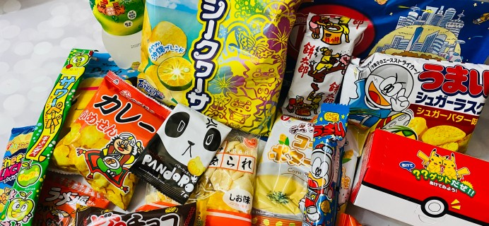 Tokyo Treat September 2021 Subscription Box Review + Coupon