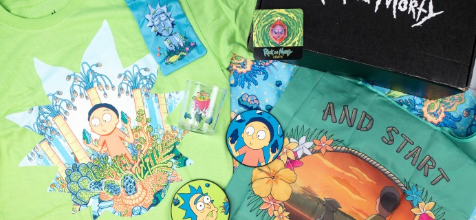 Rick and Morty Crate July 2021 Subscription Box Review + Coupon