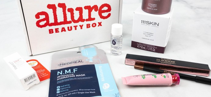 Allure Beauty Box August 2021 Review & Coupon