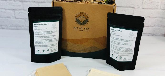 Atlas Tea Club Review + Coupon: August 2021