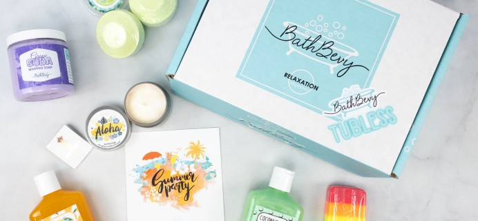 Bath Bevy TUBLESS BOX Review + Coupon – August 2021