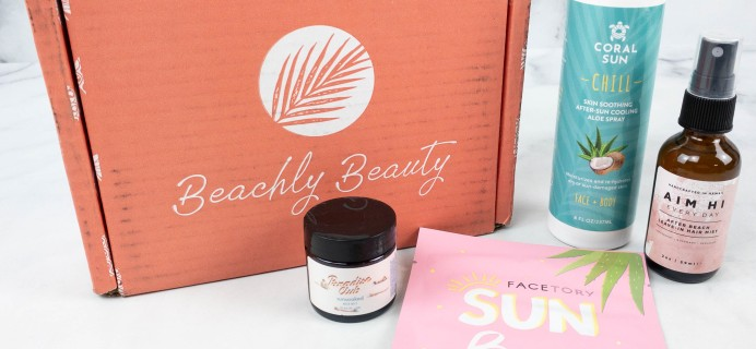 Beachly Beauty Box Review + Coupon – August 2021