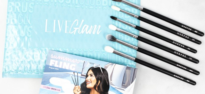 LiveGlam Brush Club Review + Coupon – August 2021