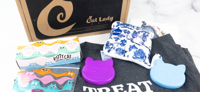 Cat Lady Box August 2021 Subscription Box Review – PURRFECT PANTRY BOX!