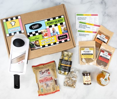 Crate Chef Review + Coupon – Chef Kenny Gilbert