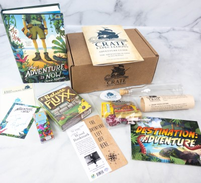 Crate Expectations Review + Coupon – July 2021 DESTINATION: ADVENTURE