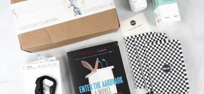 Culture Carton ANTHONY Box Review + Coupon – August 2021