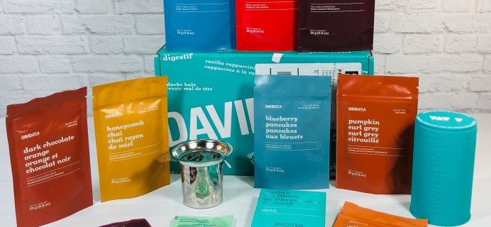 DAVIDsTEA Tasting Club Review – Fall 2021