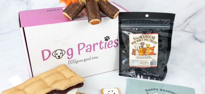 Dog Parties Subscription Box Review –  August 2021