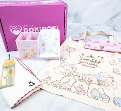 Doki Doki September 2021 Subscription Box Review & Coupon