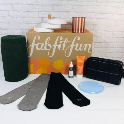 FabFitFun Fall 2021 Box Review + Coupon