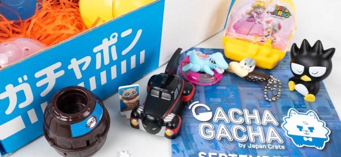 Gacha Gacha Crate September 2021 FULL Spoilers + Coupon!