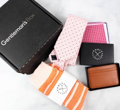 The Gentleman's Box August 2021 Subscription Box Review + Coupon