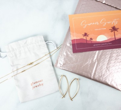 Glamour Jewelry Box Subscription Review + Coupon: August 2021